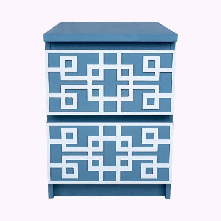Grace - furniture decor for IKEA Malm bedside table