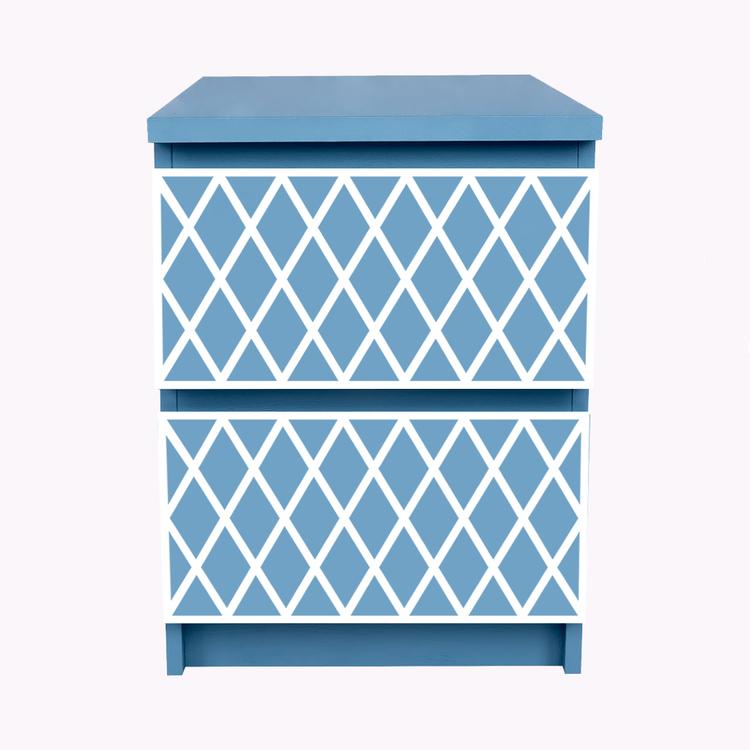 Rut - furniture decor for IKEA Malm bedside table