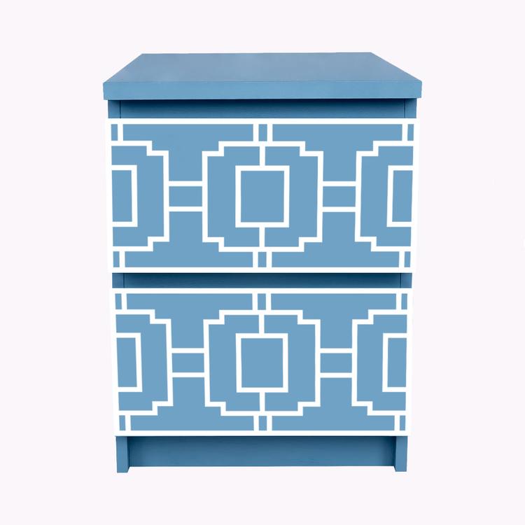 Livia - furniture decor for IKEA Malm bedside table