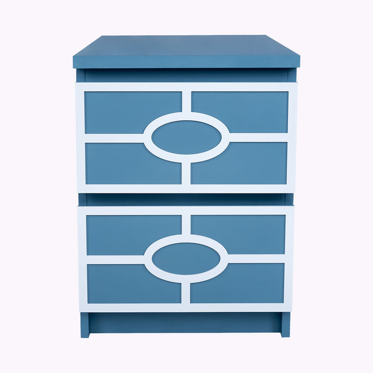 Caroline - furniture decor for IKEA Malm bedside table