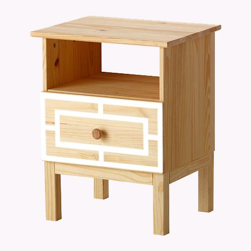 Emil - möbeldekor till Tarva sängbord