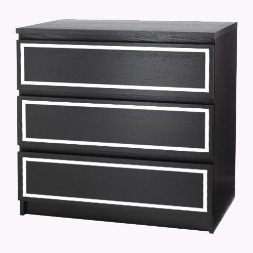 Ida - furniture decor for IKEA Malm dresser (produced on order)