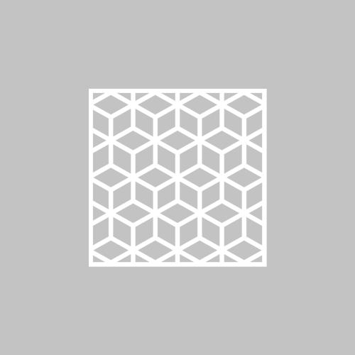 Elli - möbeldekor till Metod skåpdörr 40x40 cm