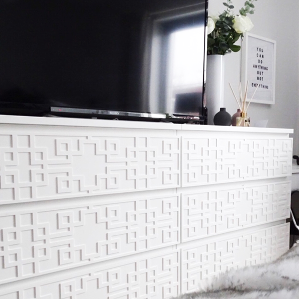 Grace - furniture decor for IKEA Malm dresser (produced on order)