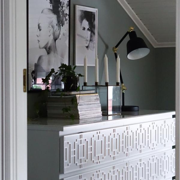 Livia - möbeldekor till Malm byrå