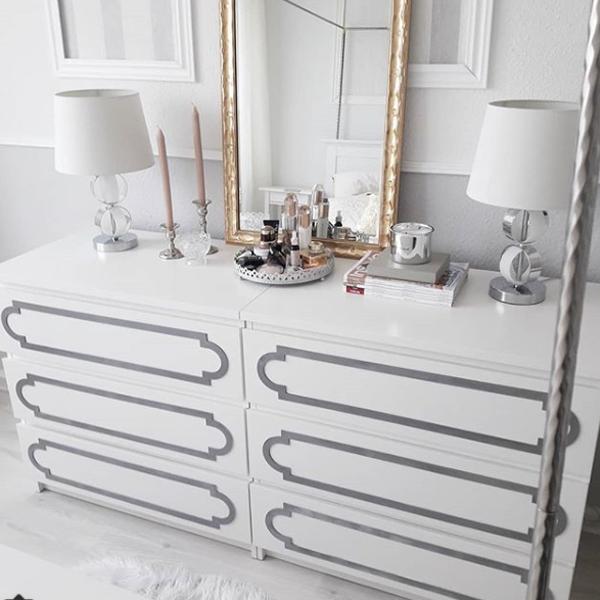 Elsa - furniture decor for IKEA Malm dresser (produced on order)