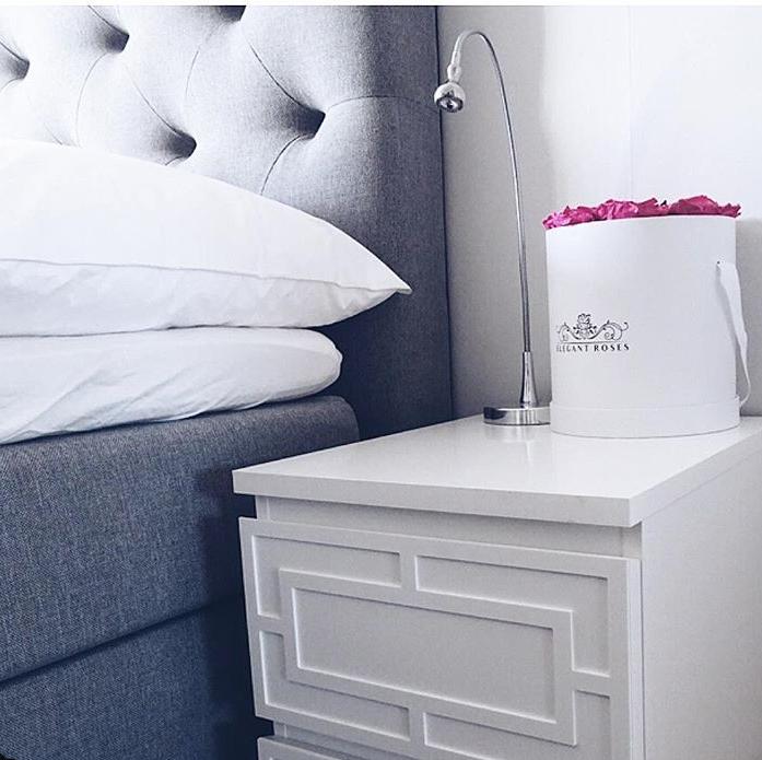 Emil - furniture decor for IKEA Malm bedside table