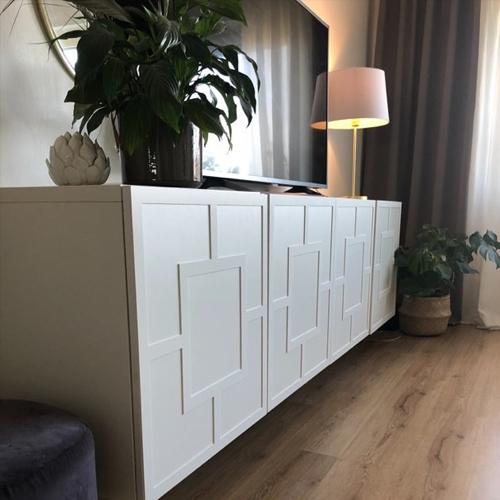 Engla - frontmönster till Bestå skåpdörr 60 x 64 cm