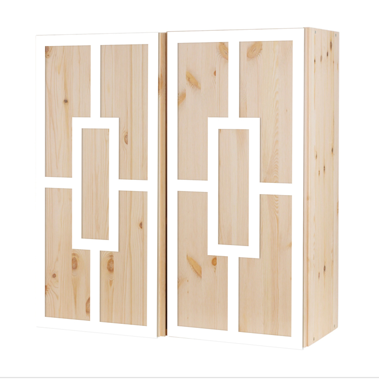 Engla - frontmönster till Ivar skåp 2 dörrar