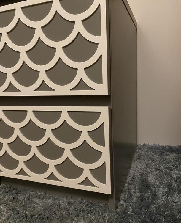 Adele - möbeldekor till MALM sängbord