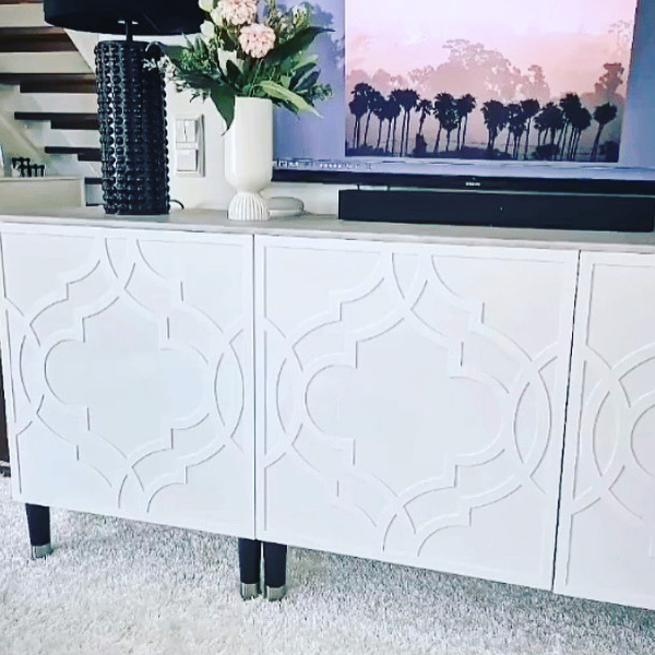 Fia - möbeldekor till Bestå skåpdörr 60 x 64 cm