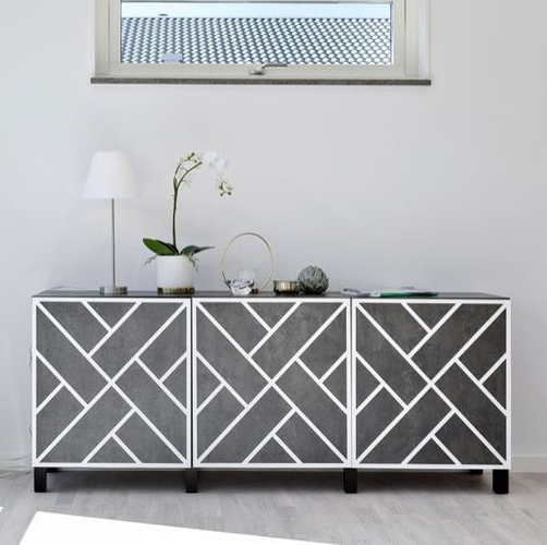 Maja - furniture covers to IKEA Bestå doors 60 x 64 cm (produced on order)