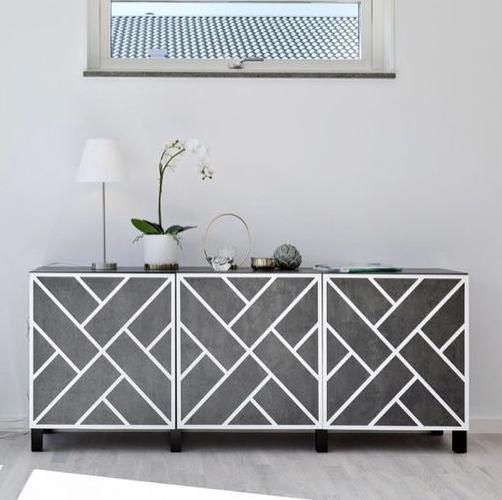 Maja - frontmönster till Bestå skåpdörr 60 x 64 cm