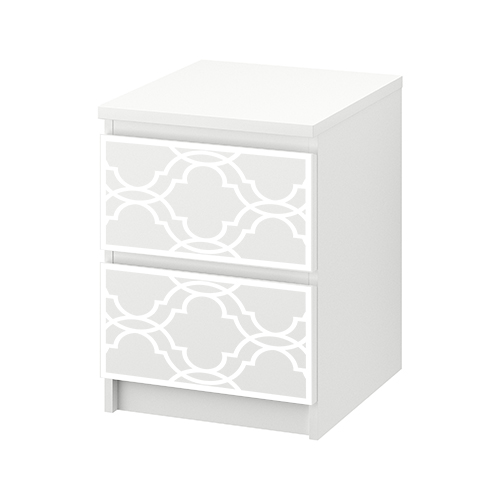 Fia - möbeldekor till MALM sängbord