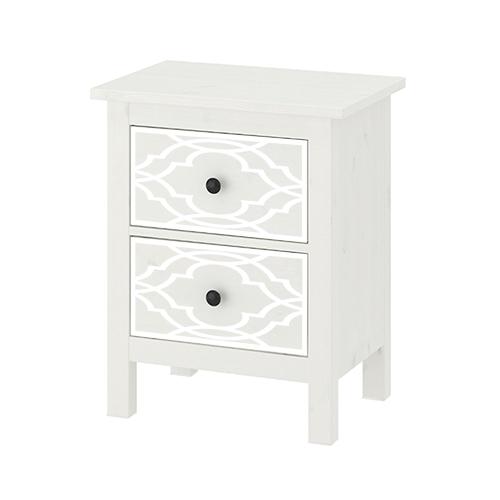 Fia - möbeldekor till HEMNES sängbord