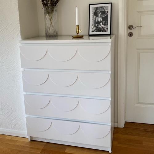 Louise - möbeldekor till Malm byrå
