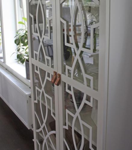 Annica - frontmönster till Billy Oxberg vitrinskåp