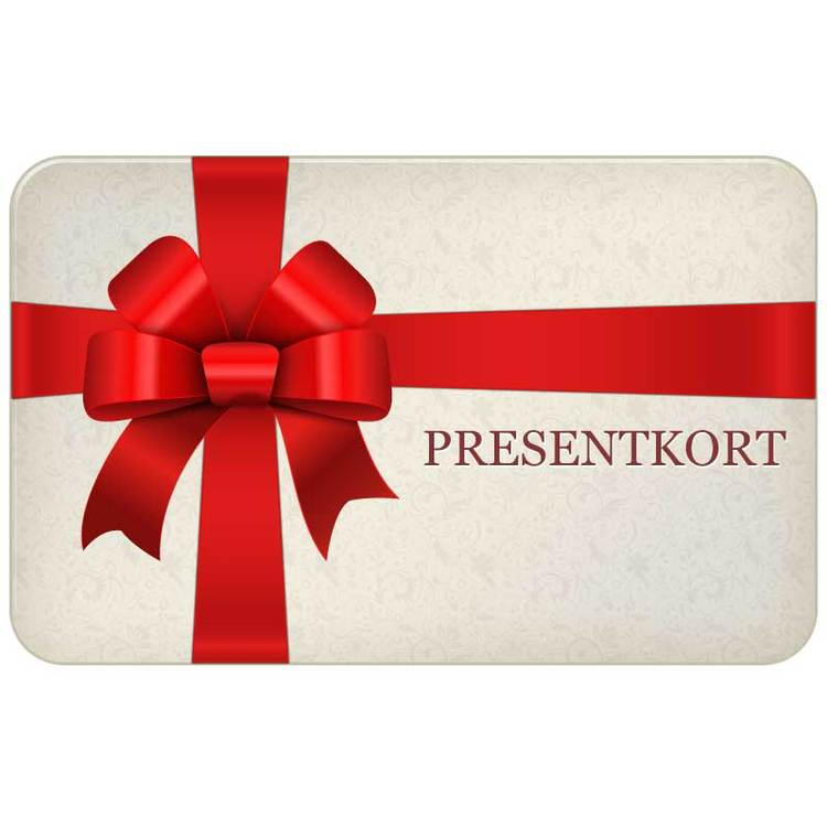 Presentkort Giftcard Digitalt 250 SEK från Catwalk Jewellery
