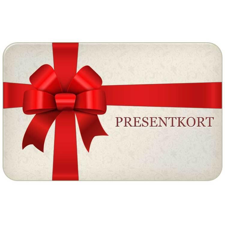 Presentkort - 250:- (Digitalt)