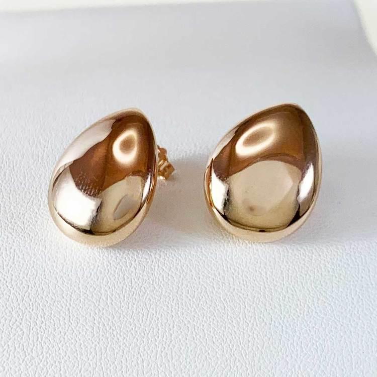 Fina örhängen i roseförgyllt silver DROP från Catwalk Jewellery