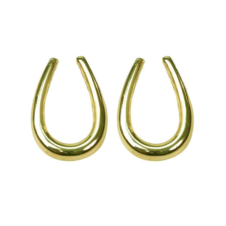 Snygga örhängen i förgyllt silver Unique från Catwalk Jewellery