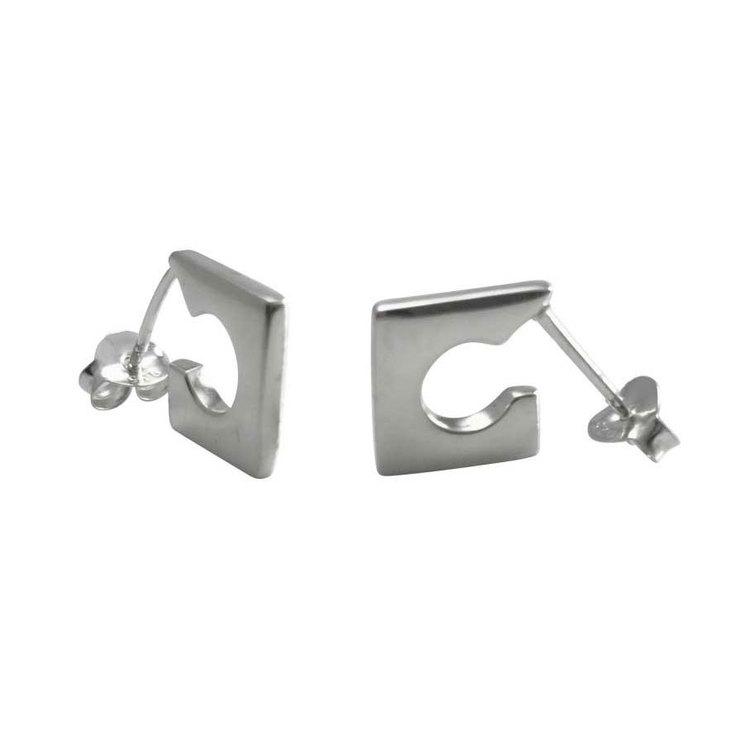 Snygga örhängen Jessie i silver från Catwalk Jewellery