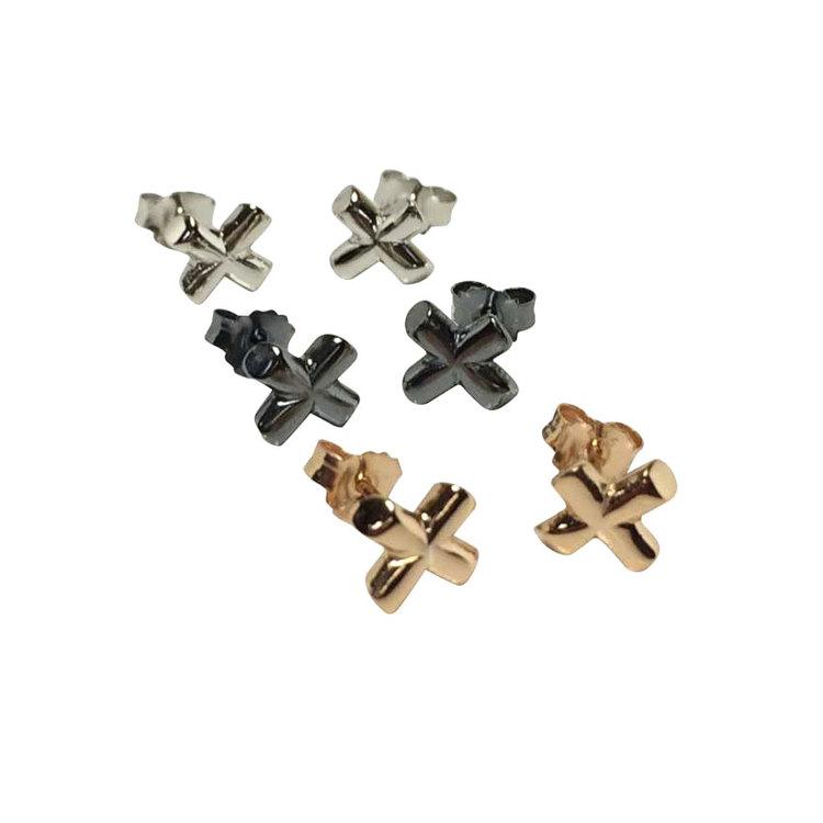 Örhängen Cross Silver