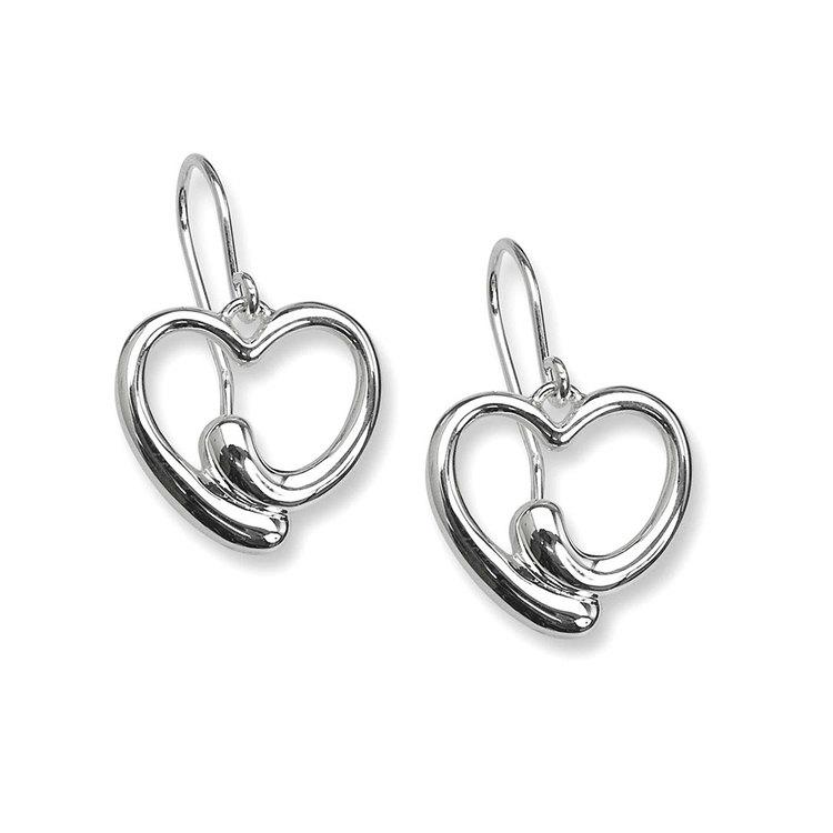 vackra örhängen i äkta silver till tjej från catwalksmycken