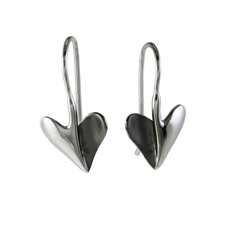 Örhängen [HEART] i 925 silver