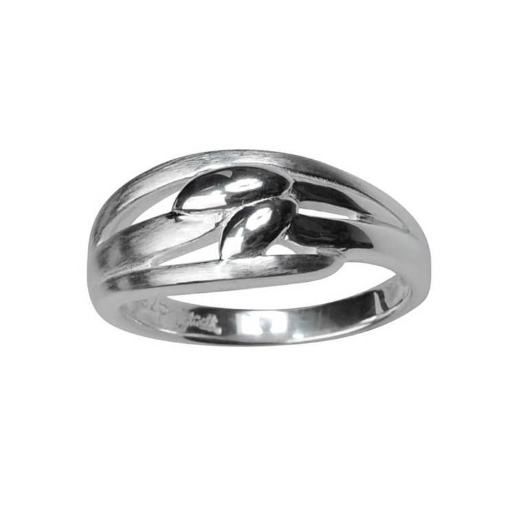 Ring Leaf Silver