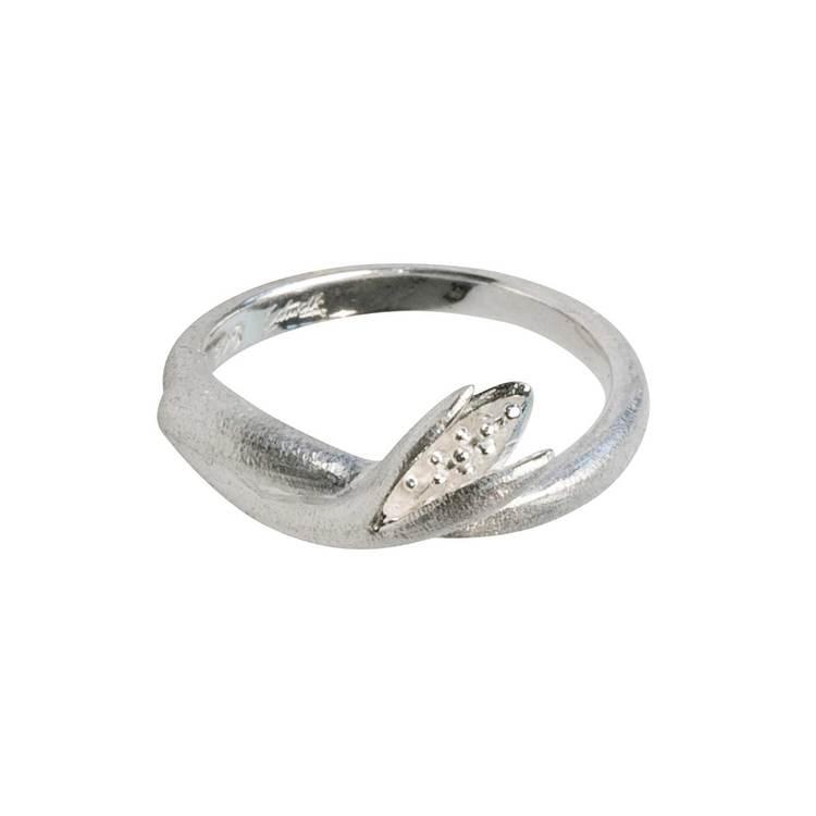 snygg och vacker ring i silver Alexia från Catwalk Jewellery