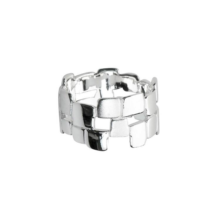 snygg ring i silver Alivia från Catwalk Jewellery