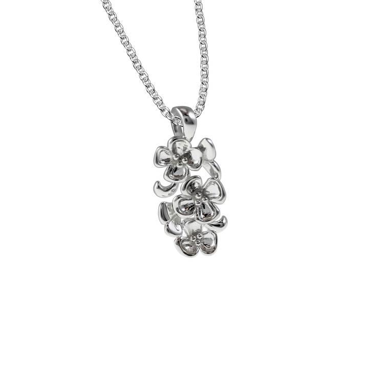 Halsband [FLOWER] i 925 silver