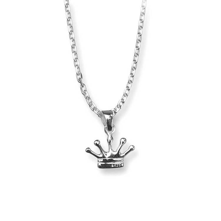 Halsband [CROWN] i 925 silver