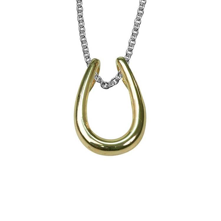 snyggt halsband i förgyllt silver UNIQUE från Catwalk Jewellery