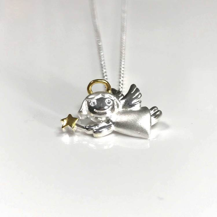 Halsband [ANGEL] i 925 sterlingsilver