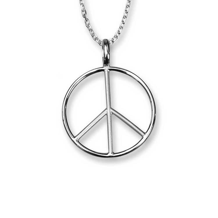 Halsband [PEACE] i 925 silver