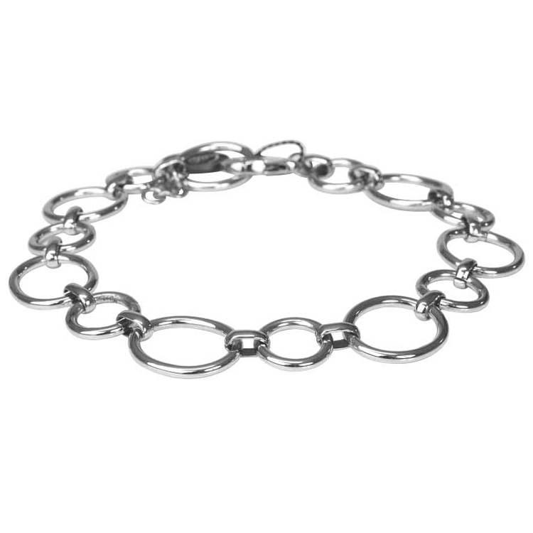 Läckert halsband i stål. Vackert Collier av tidlös design som passar för alla tillfällen från catwalksmycken