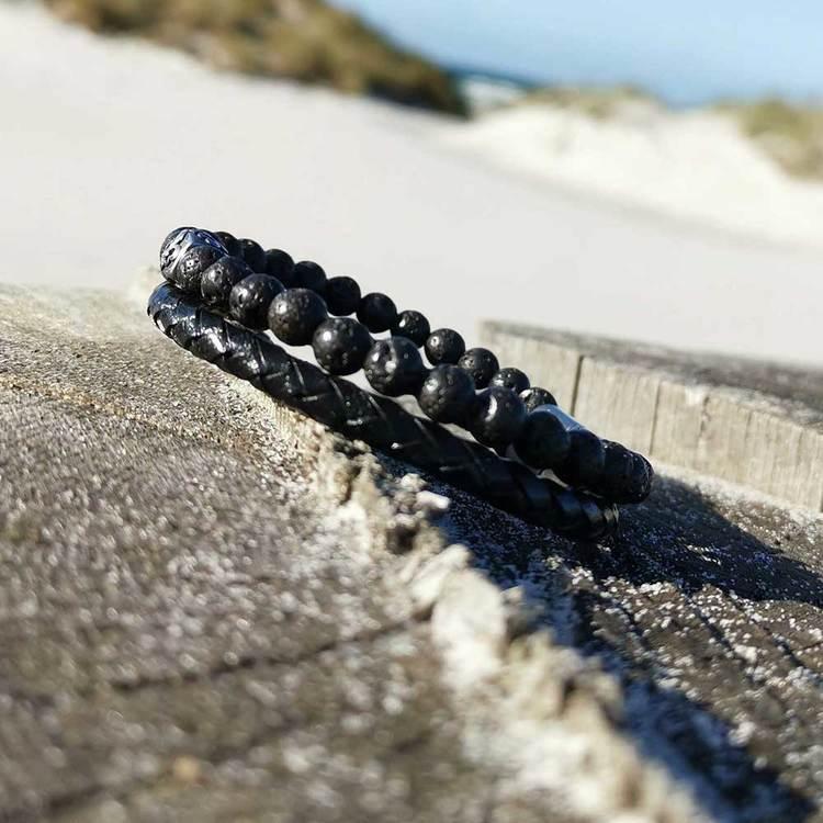 armband i läder för honom från catwalksmycken