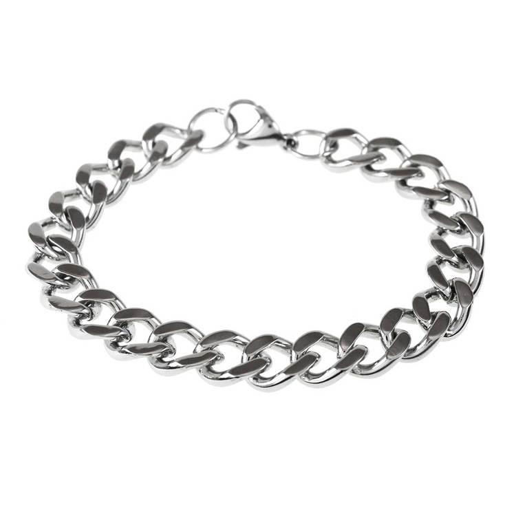 Pansararmband steel 9 mm från Catwalk Jewellery