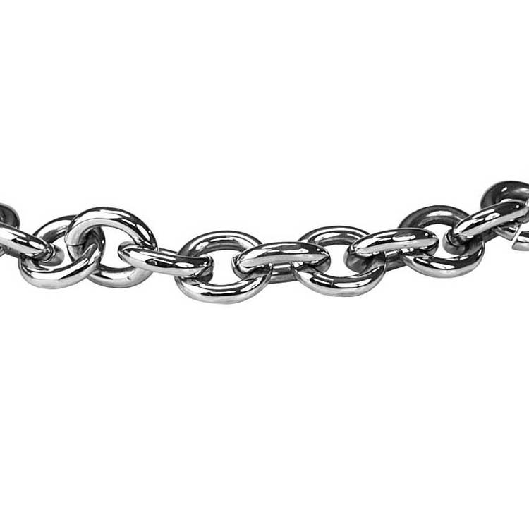 Halsband Stål - 55 cm