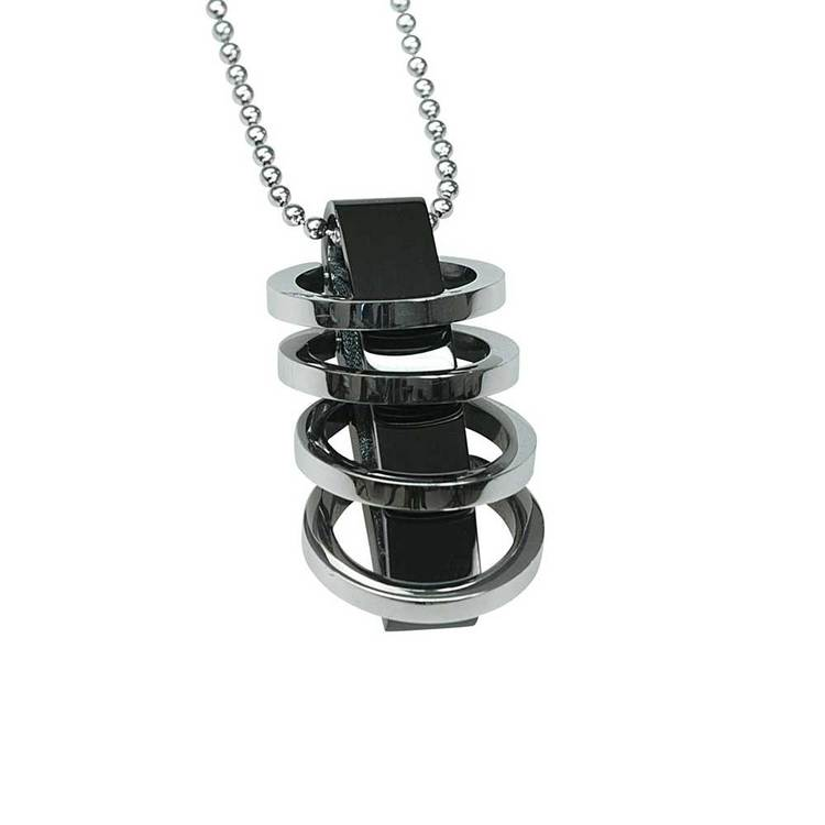 Halsband Rings Stål