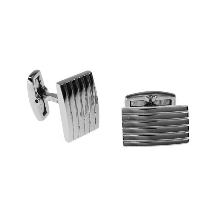 Manschettknappar i steel