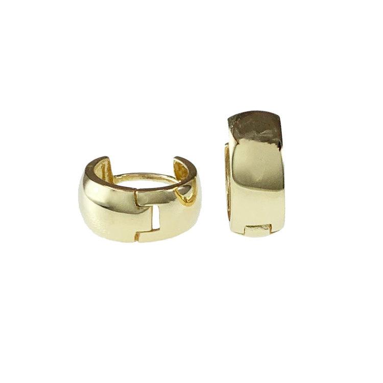 Creoler 18K Guld - 11,2 x 4,8 mm