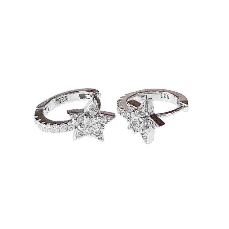 Örhängen Shining Star, snygga örhängen från Catwalk Jewellery