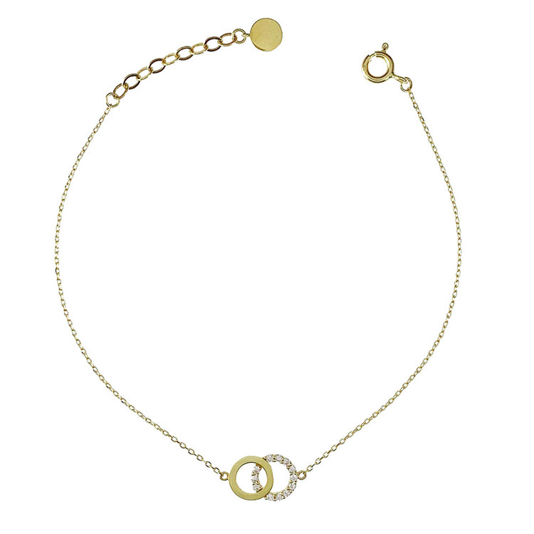 Armband Double Rings Gold