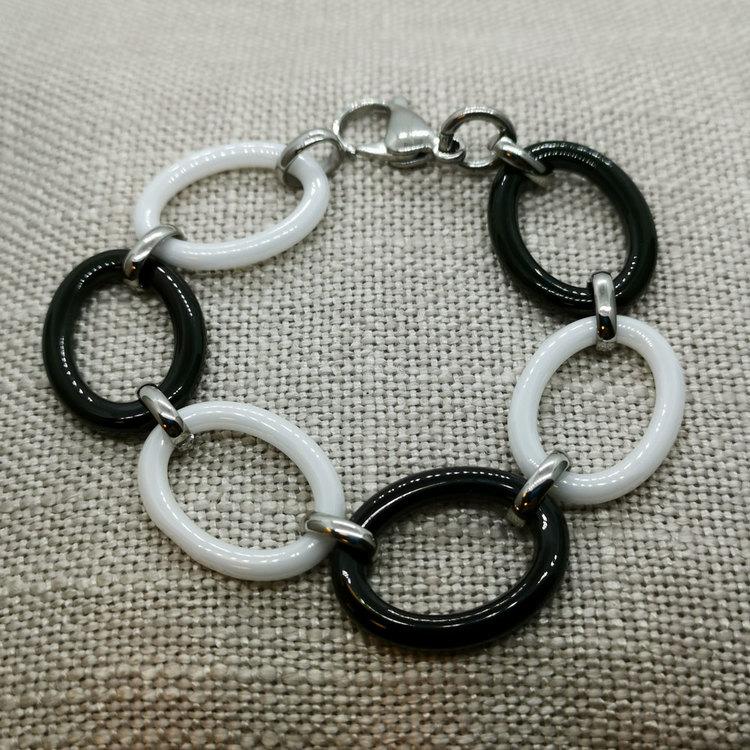 Armband Black & White