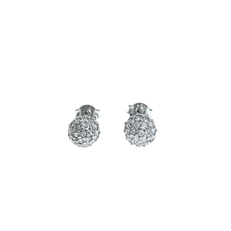 snygga örhängen i silver från Catwalk Jewellery