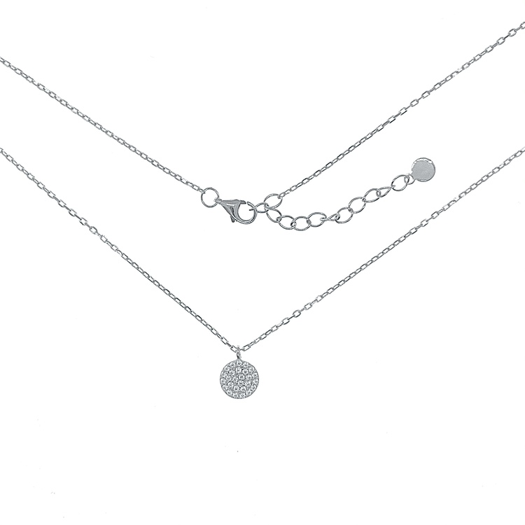 Halsband Sparkling Dots Silver