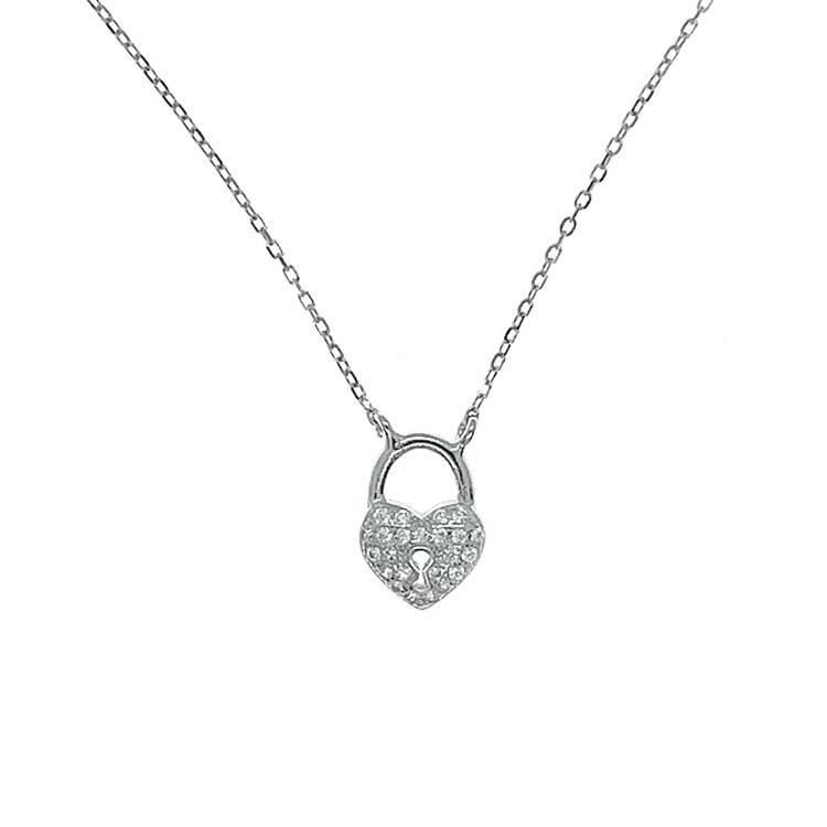 vackert silverhalsband till tjej från Catwalk jewellery